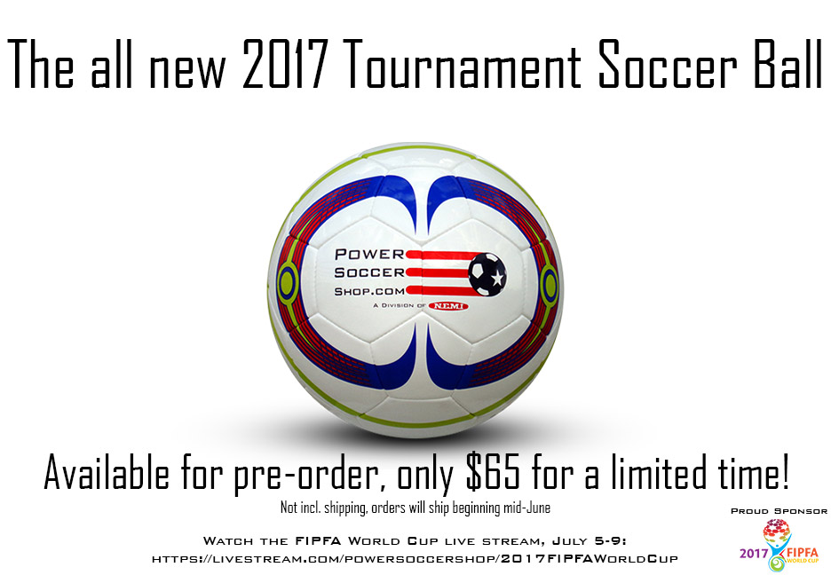 New 2017 Power Soccer Ball, only $65!