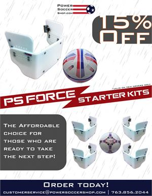 15% Off PS Force Starter Kits
