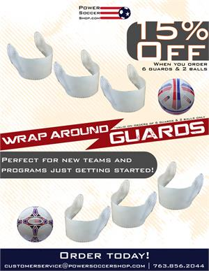 15% off Wrap Around Guards