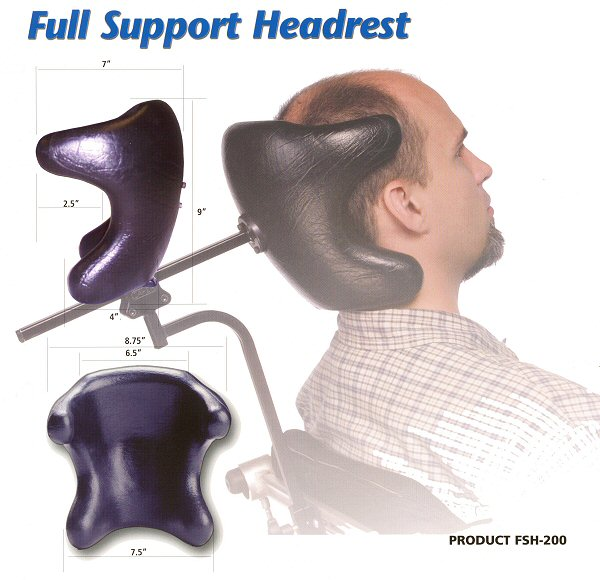 Full Support Head Rest
